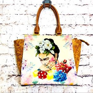 Frida high quality stud shoulder bag and crossbody